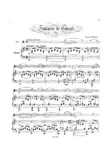 Концертная фантазия: Концертная фантазия by Леопольд Уолнер