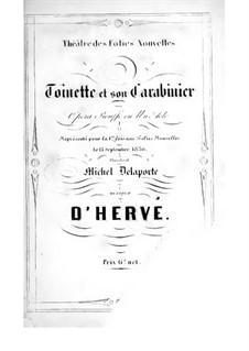 Toinette et son carabinier: Toinette et son carabinier by Флоримон Эрве