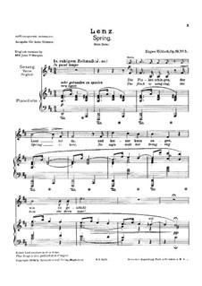 Весна, Op.19 No.5: Весна by Евгений  Гильдах