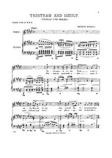 Тристан и Изольда, Op.24 No.4: Тристан и Изольда by Генрих Хофманн