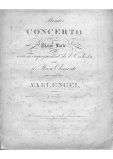 Концерт для фортепиано с оркестром No.1 си-бемоль мажор, Op.4: Концерт для фортепиано с оркестром No.1 си-бемоль мажор by Август Александр Кленгель