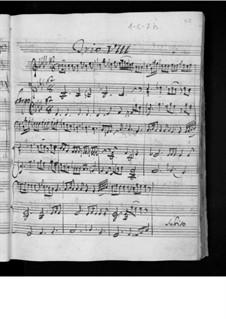 Шесть струнных трио, Op.4: Трио No.4, G.86 by Луиджи Боккерини