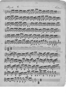 Шестнадцать маленьких пьес для гитары, Op.59: Пьесы No.16, 8 by Мауро Джулиани