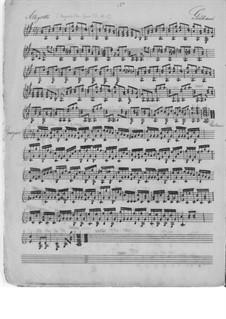 Четыре пьесы для гитары, Op.73 No.1, 2, 6, Op.111 No.3: Четыре пьесы для гитары by Мауро Джулиани