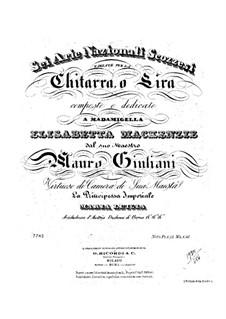 Шесть шотландских национальных арий для гитары (или лиры): Шесть шотландских национальных арий для гитары (или лиры) by Мауро Джулиани