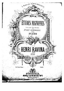 Двадцать пять любимых этюдов, Op.60: Nos.13-25 by Жан-Анри Равина