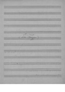 Til en hunndjevel (To a Devil), EG 154: Til en hunndjevel (To a Devil) by Эдвард Григ