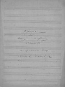 Holberg Cantata, EG 171: Holberg Cantata by Эдвард Григ