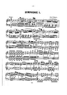 Симфония No.97 до мажор, Hob.I/97: Версия для фортепиано by Йозеф Гайдн
