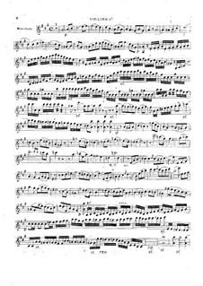 Большой концерт для гитары с оркестром No.2, Op.36: Партии by Мауро Джулиани