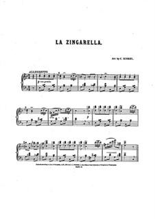 La Zingarella: La Zingarella by Чарльз Кинкель