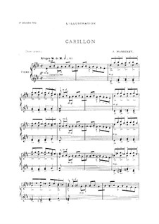 Carillon: Carillon by Жюль Массне