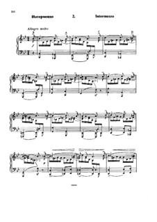 Шесть вариаций на тему BACH, Op.10: No.2 Интермеццо by Николай Римский-Корсаков