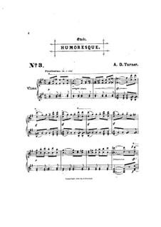 Шесть концертных этюдов: No.3 Юмореска by Альфред Дадли Тёрнер