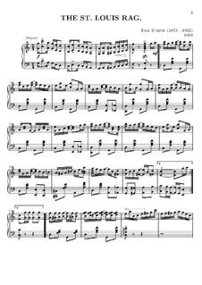 St. Louis Rag: Для фортепиано by Tom Turpin