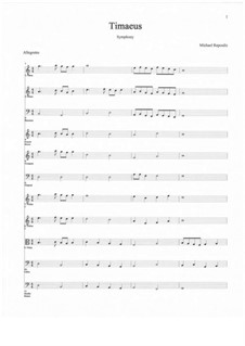 Timaeus: First Movement by Michael Repoulis