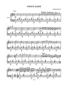Metro Score: Metro Score by M. L. Wyatt