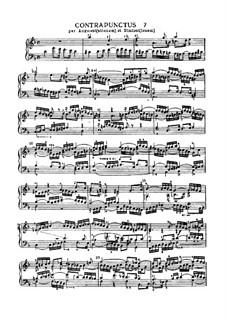 Искусство фуги, BWV 1080: No.7 by Иоганн Себастьян Бах