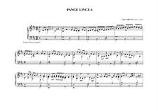 Pange Lingua: Pange Lingua by Пабло Бруна