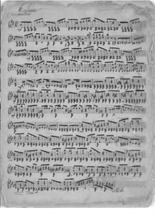 Пьеса для гитары ре мажор: Пьеса для гитары ре мажор by Мауро Джулиани
