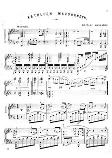 Transcription of Popular Melodies: Kathleen Mavourneen by Бринли Ричардс