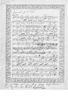 Экспромт для скрипки: Экспромт для скрипки by Кароль Юзеф Липиньский
