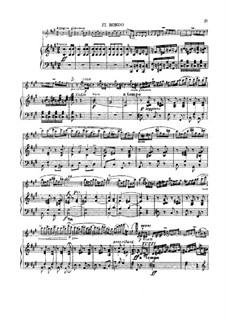 Концерт для скрипки с оркестром No.1, Op.14: Часть III, для скрипки и фортепиано by Генрик Венявский