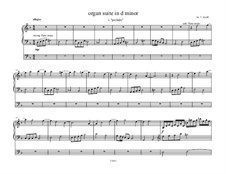 Suite for Organ in D Minor: Suite for Organ in D Minor by M. L. Wyatt