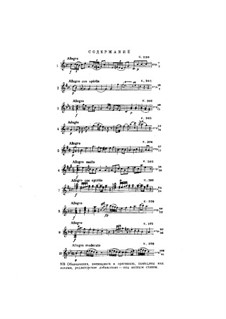Избранные сонаты для скрипки и фортепиано: Избранные сонаты для скрипки и фортепиано by Вольфганг Амадей Моцарт