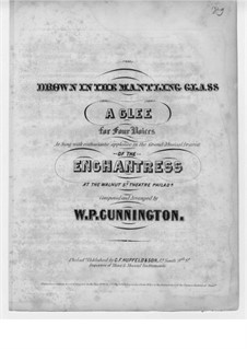 Drown in the Mantling Glass: Drown in the Mantling Glass by William P. Cunnington