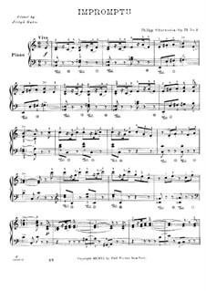 Экспромт, Op.73: Экспромт by Филипп Шарвенка