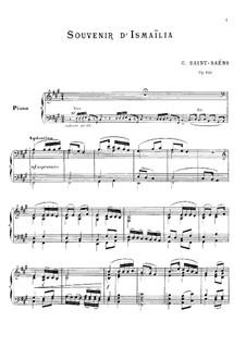 Воспоминания об Исмаилии, Op.100: Воспоминания об Исмаилии by Камиль Сен-Санс