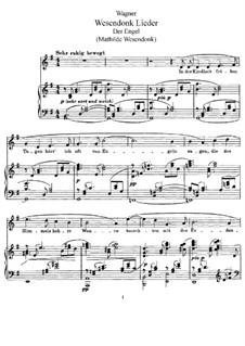 Пять песен на стихи Матильды Везендонк, WWV 91: Весь сборник by Рихард Вагнер