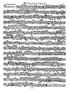 Соната для валторны и фортепиано, Op.17: Версия для валторны (или виолончели) и фортепиано – партия виолончели by Людвиг ван Бетховен