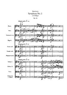 Симфония No.2, Op.36: Часть I by Людвиг ван Бетховен