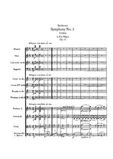 Симфония No.3 'Героическая', Op.55: Часть I by Людвиг ван Бетховен