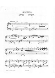 Larghetto in E Minor: Larghetto in E Minor by Луиджи Боккерини