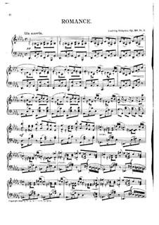Романс, Op.110 No.2: Романс by Людвиг Шитте