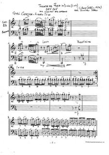 Токката и фуга ре минор, BWV 565: For clarinet and bassoon by Иоганн Себастьян Бах