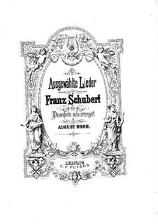 Избранные песни для фортепиано: Избранные песни для фортепиано by Франц Шуберт