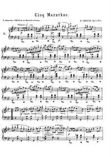 Мазурки, Op.7: Сборник by Фредерик Шопен