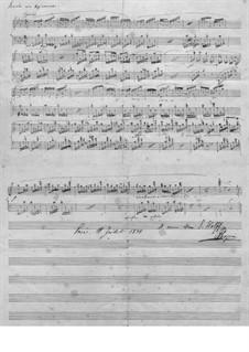 Прелюдия ля-бемоль мажор, B.86 KK. IVb/7: Для фортепиано (Манускрипт) by Фредерик Шопен