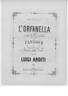 L'orfanella (The Orphan): L'orfanella (The Orphan) by Луиджи Ардити