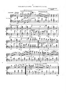 Champaigne Schottisch, Op.12: Champaigne Schottisch by William Dressler