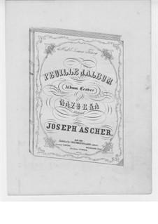 Листок из альбома: Листок из альбома by Йозеф Ашер