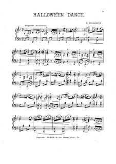 Halloween Dance for Piano: Halloween Dance for Piano by Ганс Энгельман