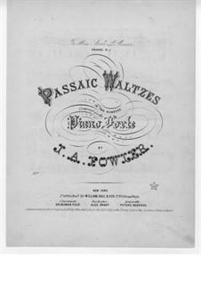 Passaic Waltz No.1: Passaic Waltz No.1 by J. A. Fowler