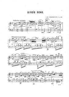 Bird's Song, Op.22: Bird's Song by J.W. Harmston