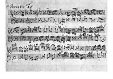 No.15 си минор, BWV 786: Для клавесина by Иоганн Себастьян Бах