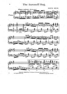 The Saranoff Rag: The Saranoff Rag by Silvio Hein